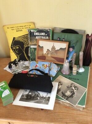 Interesting Job Lot Of Vintage Collectables.all Varied Items.