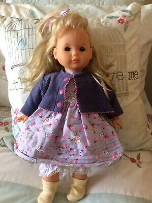 "Zapf Creation Gorgeous  Soft Bodied 16"" Doll ~ excellent condition"