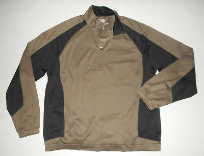 BOY SCOUTS Of America 1/2 Zip Jacket POLYESTER Pullover Scout Adult Mens NEW Md