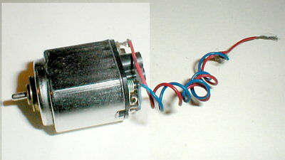 "(1) Special ""SUPER"" NASCAR Chrome 36D Motor by COX #3505 Very Scarce 34K RPM rus"