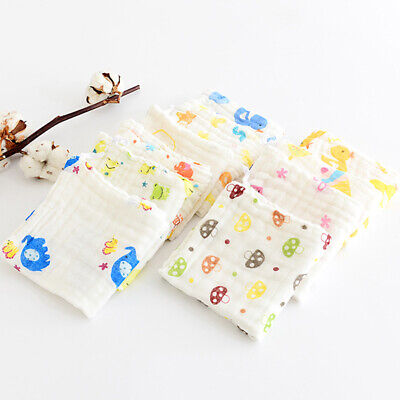 Towels Feeding Cloth Handkerchief Soft Face Washers Kids Square 30*30cm Baby