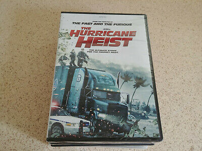 The Hurricane Heist from director of Fast and the Furious, 2018, DVD NEW Sealed