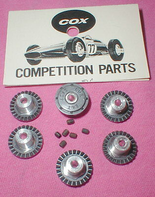 24 Tooth Crown Gears by COX Factory Dealer Bags of 6  Original Slot Car NOS Bulk