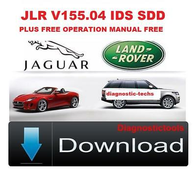 Jaguar Land Rover IDS SDD v155  With Login Password ACTIVATED 2019 new JLR