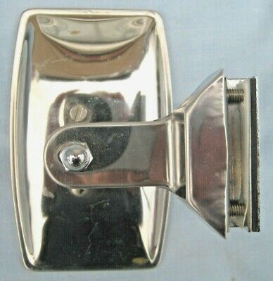 Quarterlight Peep Overtaking Door Clamp On Mirror~Classic Mini Cortina Escort