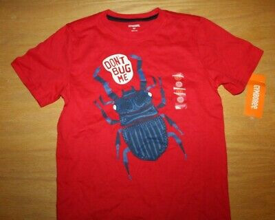 NWT Gymboree Mix and Match size 5T Red Beetle Dont Bug Me Shirt Top
