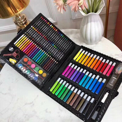 150pcs/set Crayon Water Color Oil Pastel Drawing Children Pencil Art Supplies