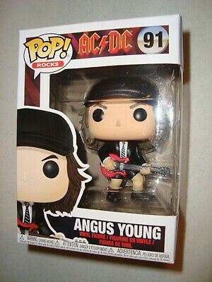 Funko Pop Rocks Angus Young  #91 Ac/dc