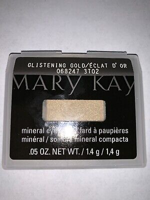 NIB Mary Kay Mineral Eye Color/Shadow *GLISTENING GOLD* - Free Shipping
