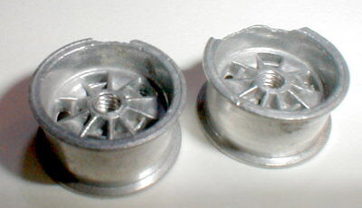 """1 Pair Hilibrand Mag Wheels for 5:40 1/8"""" Axles1966 Revell Slot Car CHIPPED LIPS"""
