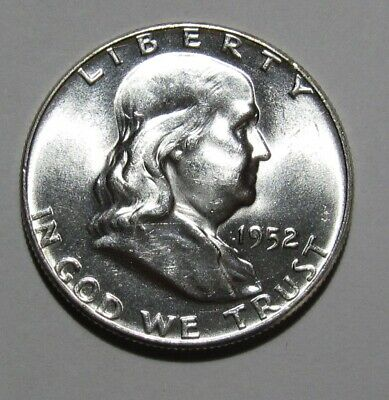 1952 Franklin Half Dollar - NICE BU Condition - 239SU