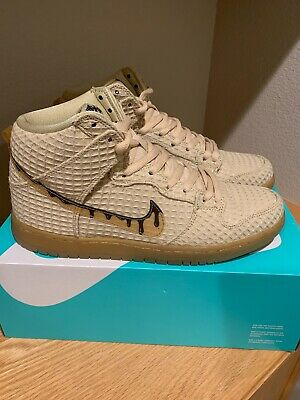 d9d2e9b26ed8 NIKE SB DUNK High Premium  Chicken and Waffles  313171-722 SZ 11.5 ...