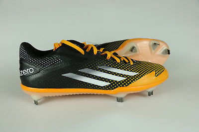 on sale 9e487 876c4 Adidas Adizero Afterburner 2.0 Metal Mens Size 9.5 Baseball Cleats  Yellow Black