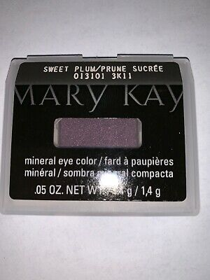 NIB Mary Kay Mineral Eye Color/Shadow Sweet Plum Free Shipping