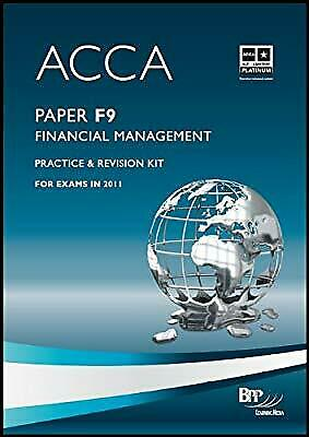 ACCA - F9 Financial Management: Revision Kit, BPP Learning Media Ltd, Used; Good