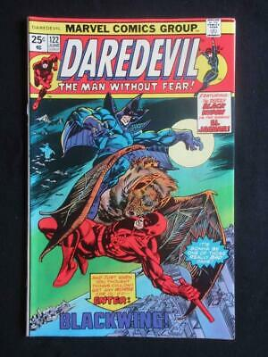 Daredevil #122 MARVEL 1975 - NEAR MINT 9.8 NM - Black Widow, Stan Lee comics!