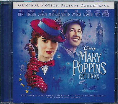 Mary Poppins Returns Soundtrack CD NEW