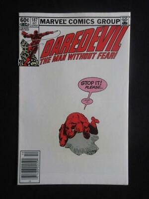 Daredevil #187 MARVEL 1982 - NEAR MINT 9.8 NM - Stan Lee, Avengers!