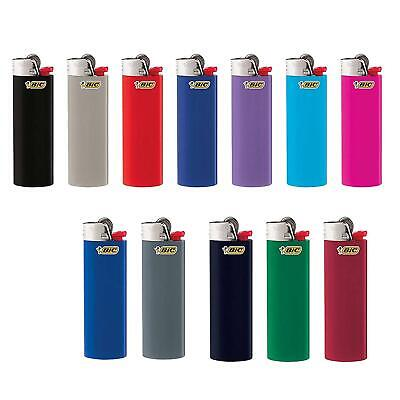 Bic Lighter Classic, Full Size, Assorted Colors,12 Piece