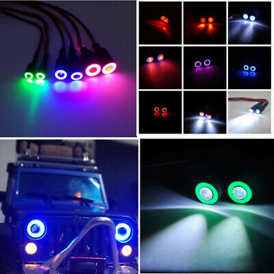 1pc 2Leds Angel & Demon Eyes LED Headlight Bulb Lamp for 1/10 RC Crawler Cars
