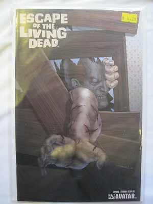 "ESCAPE of the LIVING DEAD  Annual  1  ""TERROR"" COVER .AVATAR 2007"
