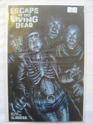 "ESCAPE of the LIVING DEAD 2 ""TOPLESS"" COVER by WOLFER,RUSSO, VERMA.AVATAR 2005"