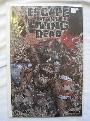 ESCAPE of the LIVING DEAD : FEARBOOK 1. By MIKE WOLFER. AVATAR 2006