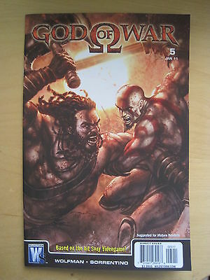 GOD of WAR 5. BASED ON THE SONY VIDEO GAME. By WOLFMAN & SORRENTINO.DC / WS.2010