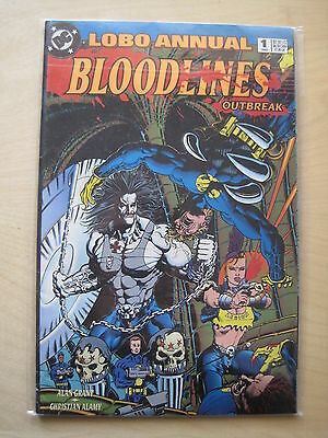 LOBO : ANNUAL 1  by GRANT & ALAMY. DC. 1993