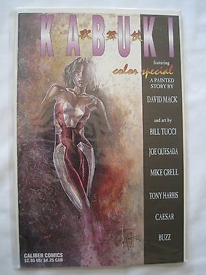 KABUKI : COLOR SPECIAL by DAVID MACK +BILL TUCCI, QUESADA,GRELL etc.CALIBER.1996