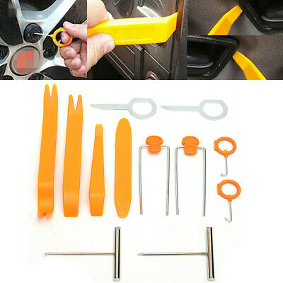 12pcs Car Audio Stereo Open Pry Tools Removal Kit For Dash Door Radio Trim Panel