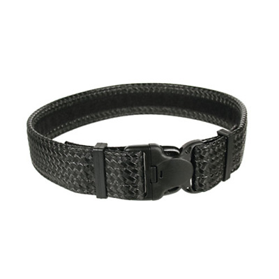 BlackHawk 44B4LGBW Black Basketweave Reinforced Duty/Gear Belt Loop Size 38-42