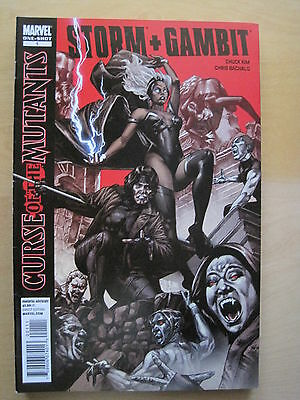 STORM & GAMBIT 1 : CURSE of the MUTANTS ONE-SHOT by KIM & BACHALO. MARVEL. 2010