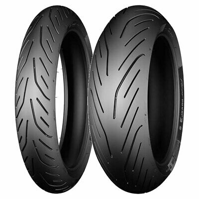Coppia Gomme Michelin 120/70-15 56H + 160/60-15 67H Pilot Power 3 Sc