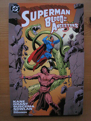Superman : Blood Of My Ancestors. Square Bound Graphic Novel One-Shot. Dc 2000