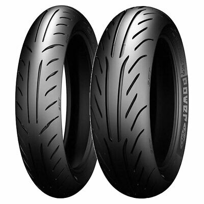 Coppia Gomme Michelin 120/70-13 53P + 140/60-13 57L Power Pure Sc