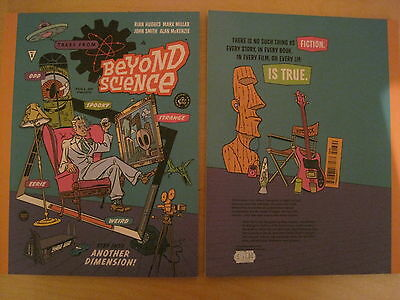 TALES FROM BEYOND SCIENCE by MARK MILLAR, HUGHES etc. COFFEE TABLE size. IMAGE