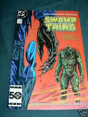 SWAMP THING  45.  By ALAN MOORE & WOCH. DC COMICS.1986