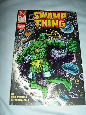 SWAMP THING 62. By RICK VEITCH & ALFREDO ALCALA.DC.1987