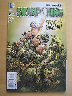 SWAMP THING  # 27  by CHARLES SOULE & JESUS SAIZ. 1st PRINT. THE NEW 52. DC.2014