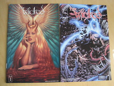 The WICKED : ISSUES 1 & 2 of the 1999 AVALON/IMAGE SERIES. MATURE
