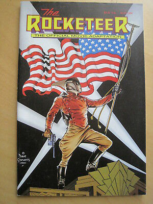 The ROCKETEER OFFICIAL MOVIE ADAPTATION GRAPHIC NOVEL by PETER DAVID, RUSS HEATH