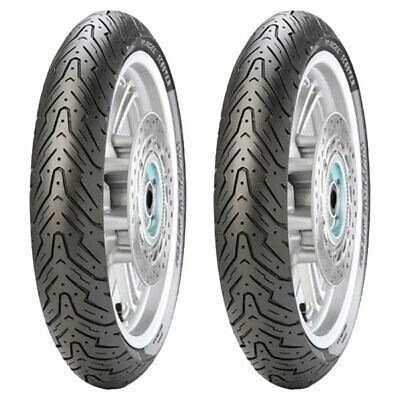 Tyre Set Pirelli 80/100-10 46J + 3.00-10 50J Angel Scooter