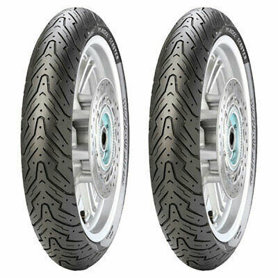 Tyre Set Pirelli 80/100-10 46J + 80/90-10 44J Angel Scooter