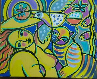 MARTINERY   CORNEILLE A NU   toile 38x46