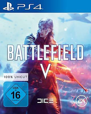 Battlefield V 5 | uncut  PS4 Playstation 4 NEU OVP