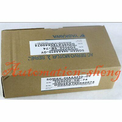1PC New In Box Yaskawa SGMAH-04AAA61D-OY Servo Motor One year warranty