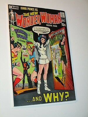 Wonder Woman #191 Dec 1970 The New Diana Prince And Why? Dc Comics