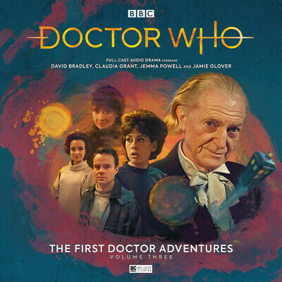 Dr Doctor Who: The First Doctor Adventures Vol. 3 (David Bradley) Big Finish NEW