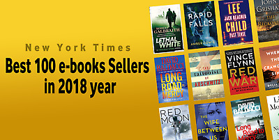 Best 100 books Sellers in The New York Times in 2018 year (EPUB)(PDF)(EB00K)